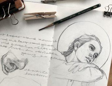 Einblick in mein Skizzenbuch