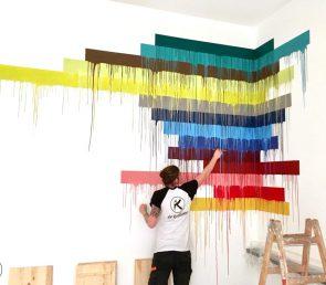 Knallige Farben im Office