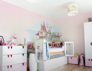 Wandmalerei im Kinderzimmer