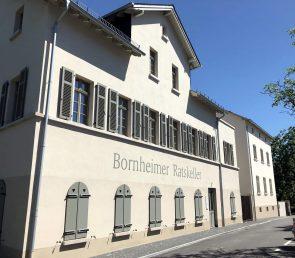 Schriftenmalerei im Bornheimer Ratskeller